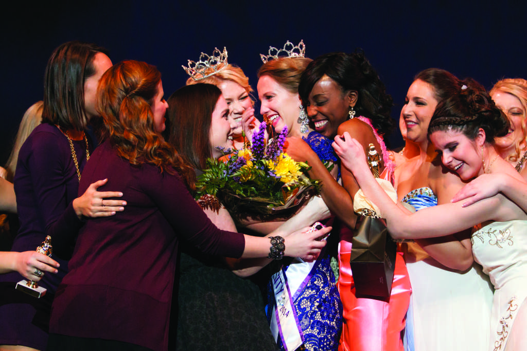 Molly Callanan crowned Miss WCU 2014