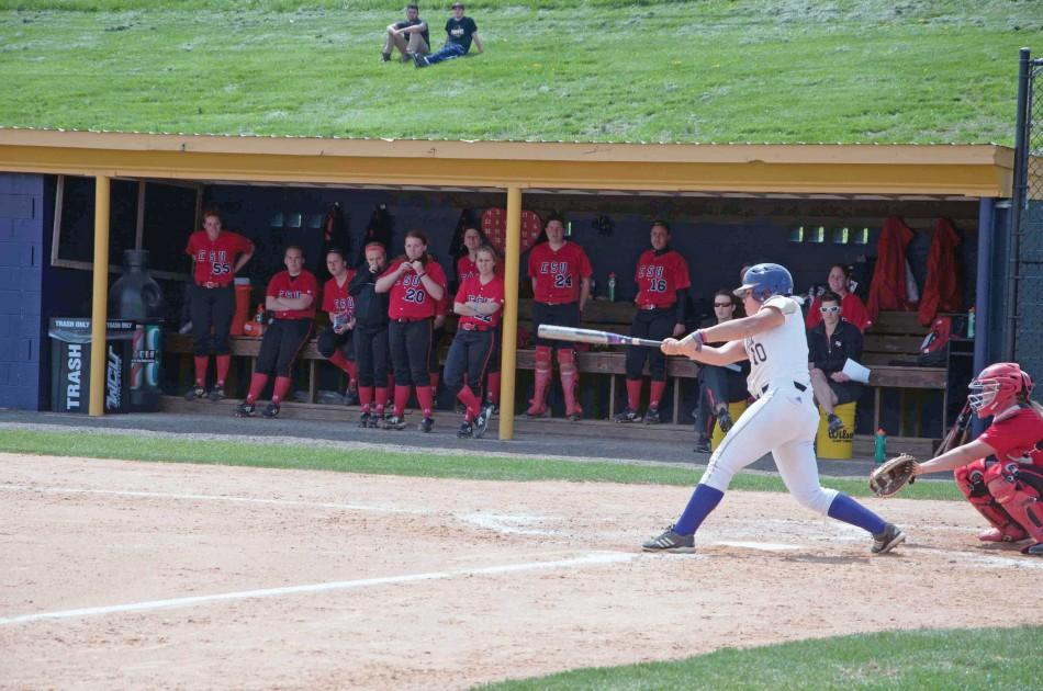 Lady Rams clinch PSAC East softball title