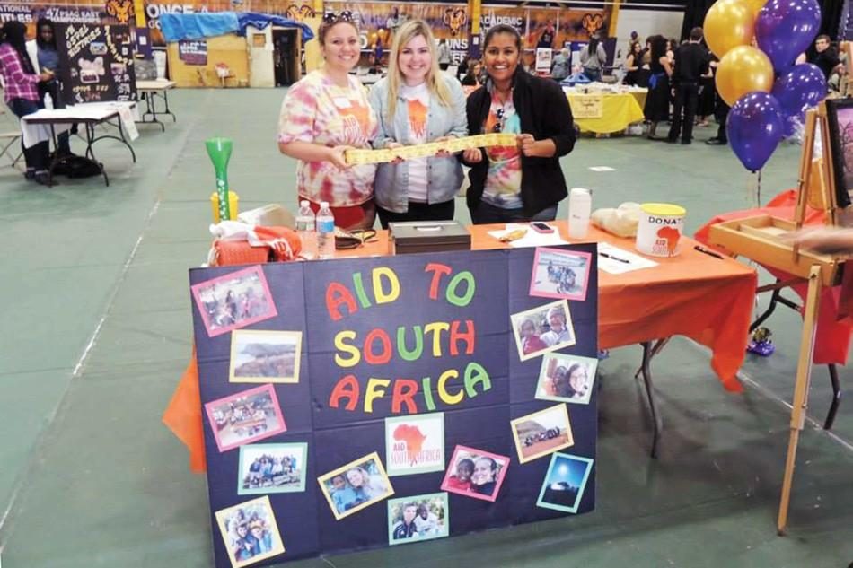 HSA raises more than $11,000 for Aid to South Africa