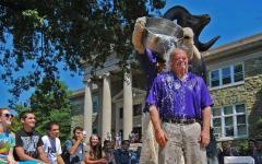 President Weisenstein undergoes Ice Bucket Challenge