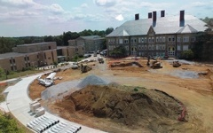 Renovation to Academic Quad leaves students with mixed feelings