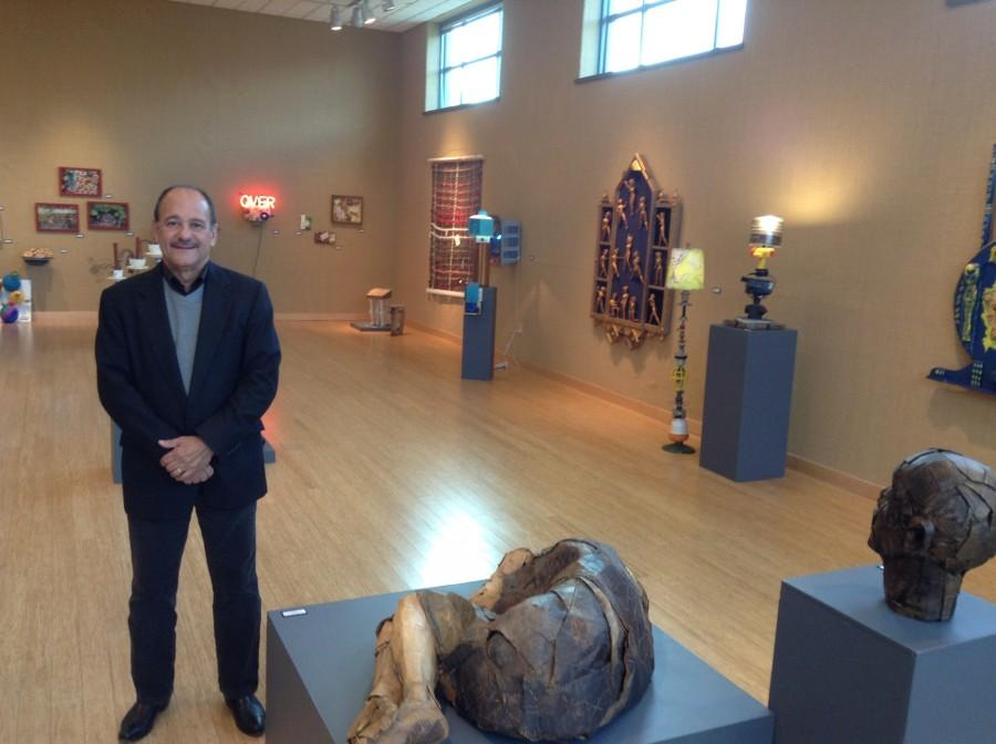John Baker, curator of the Lost & Found show
