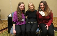 WCU students attend  Gloria Steinem press briefing