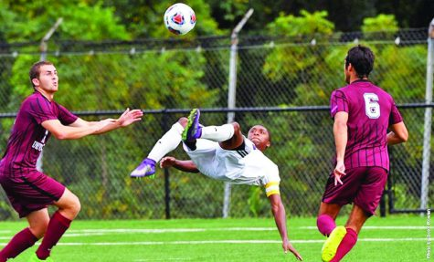 Men's soccer falls in first round
