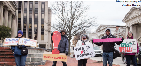 Local nonpartisan group protests Ryan Costello
